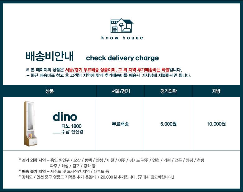 디노 1800 수납 전신경 - 노하우, 124,830원, 수납/선반장, 수납장