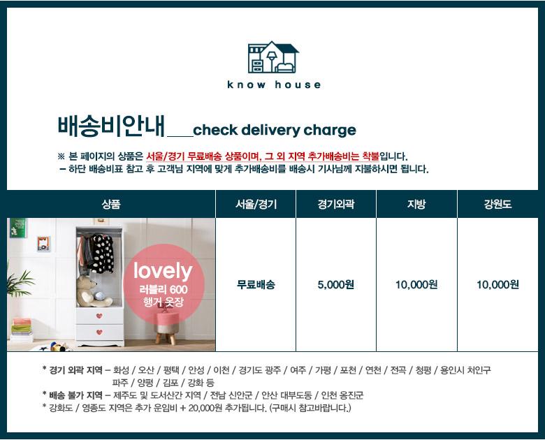 러블리 600 행거 옷장 - 노하우, 119,080원, 가구, 옷장/수납장